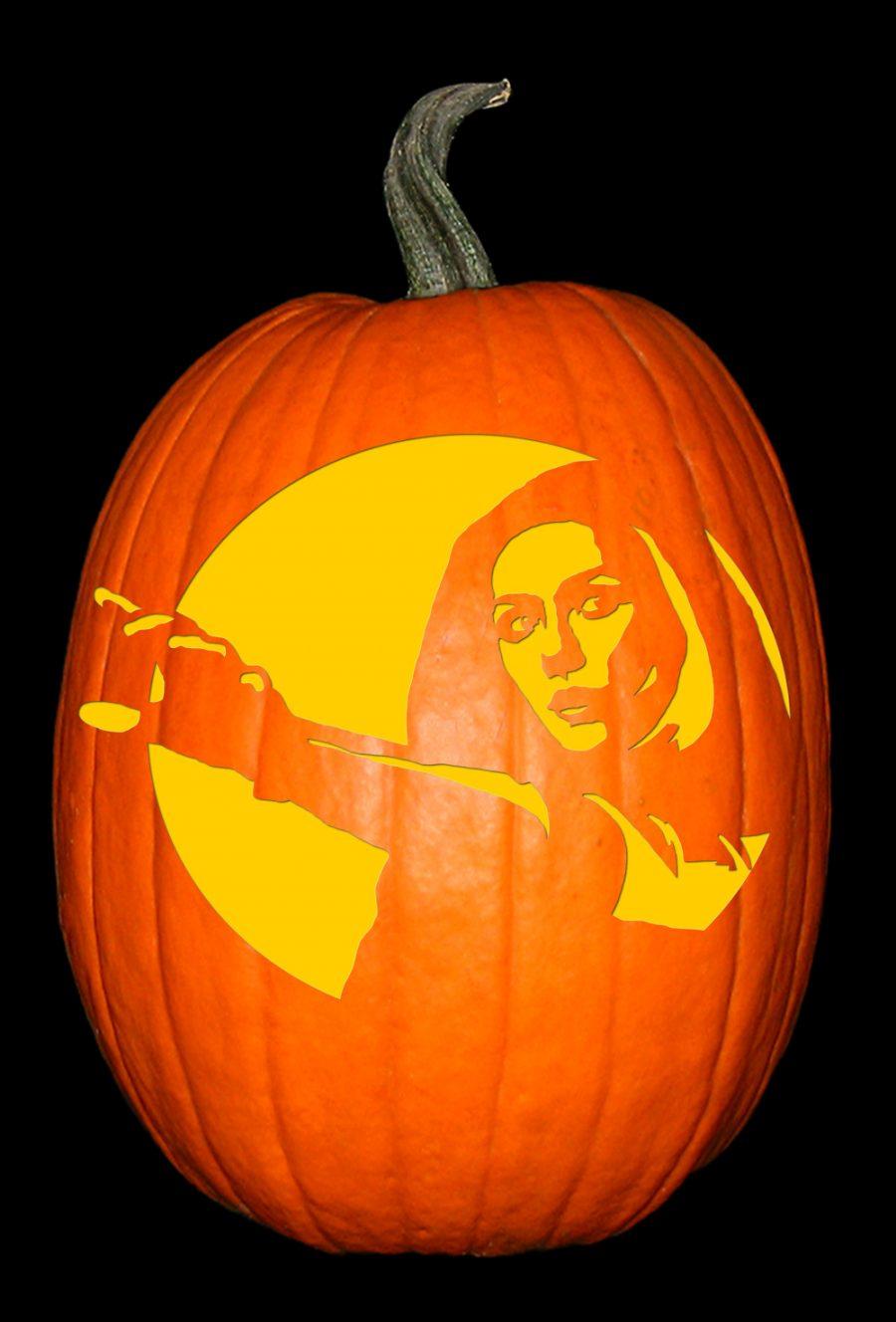 Marvel - Scarlet Witch Pumpkin