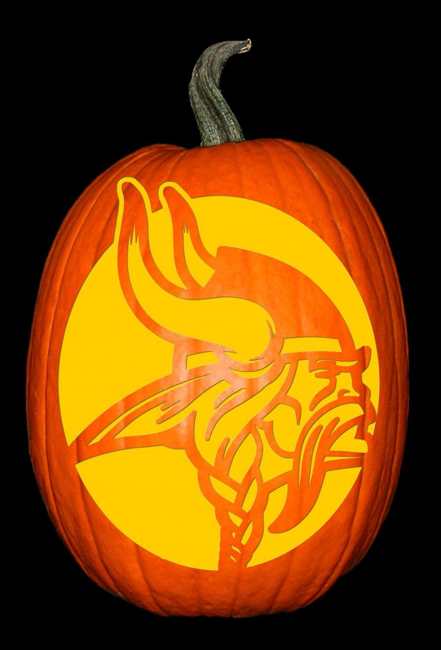 Minnesota Vikings Pumpkin