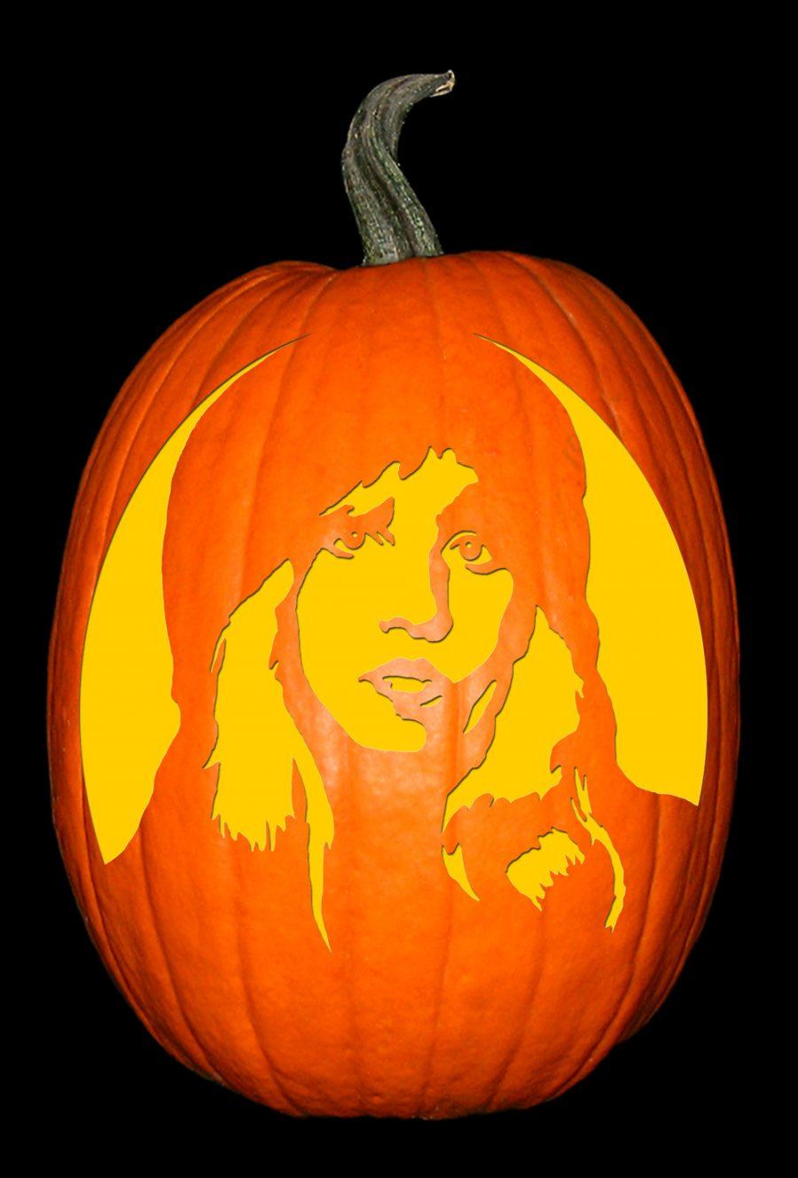 Stevie Nicks Pumpkin