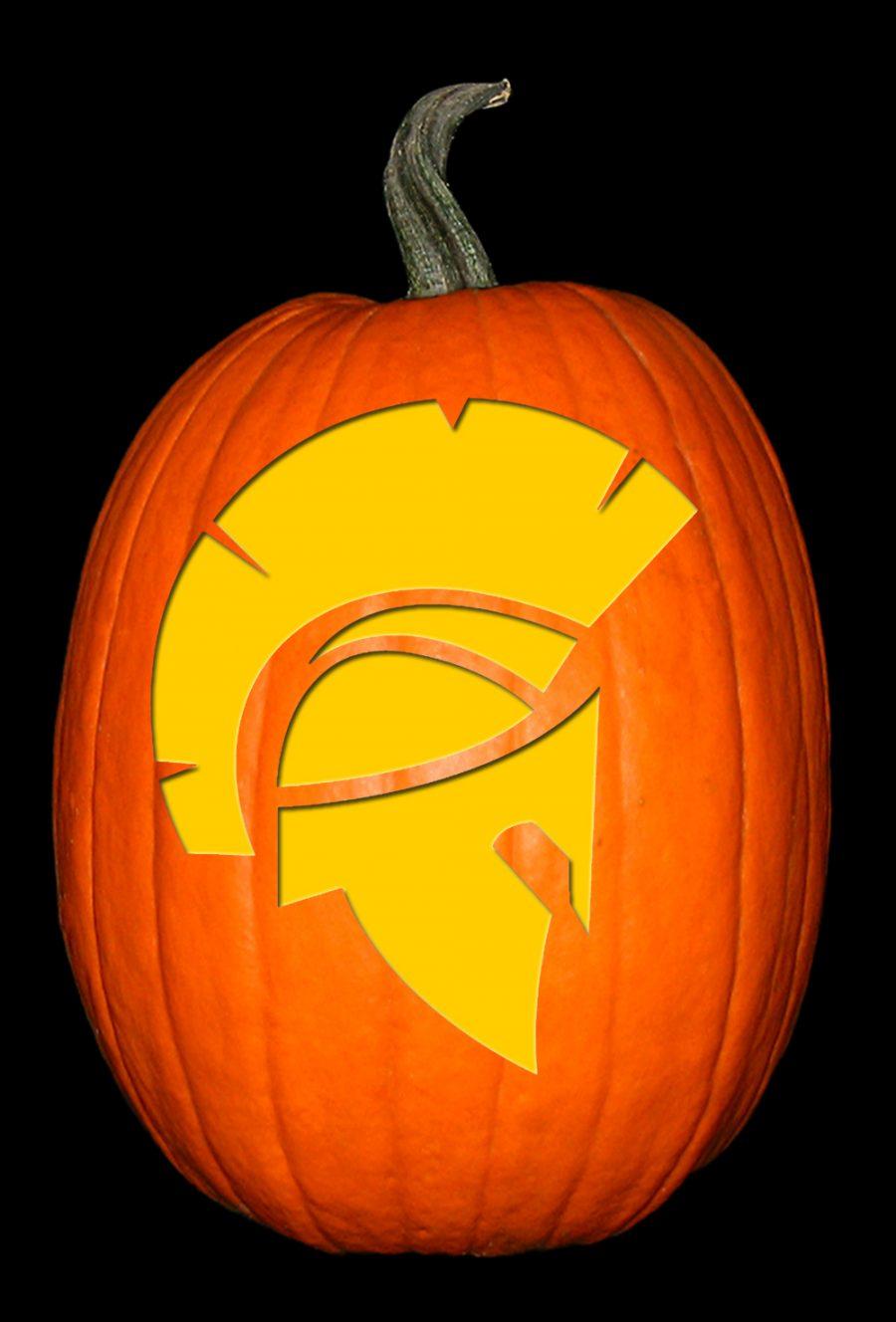 Sparta NJ Emblem Pumpkin