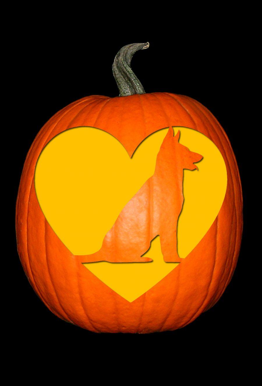 Love My German Shepherd 2 Pumpkin