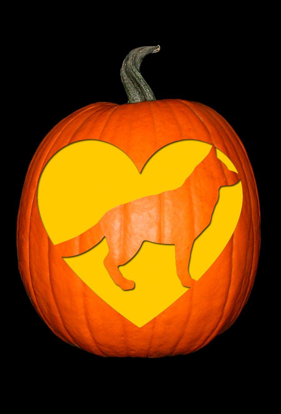 Love My German Shepherd Pumpkin
