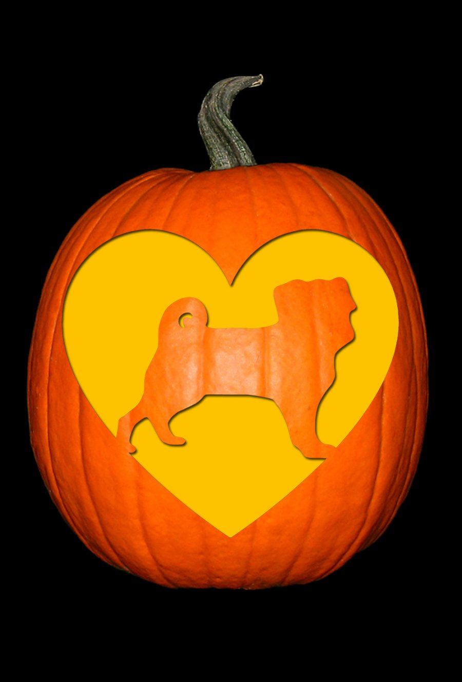 Love My Pug Pumpkin