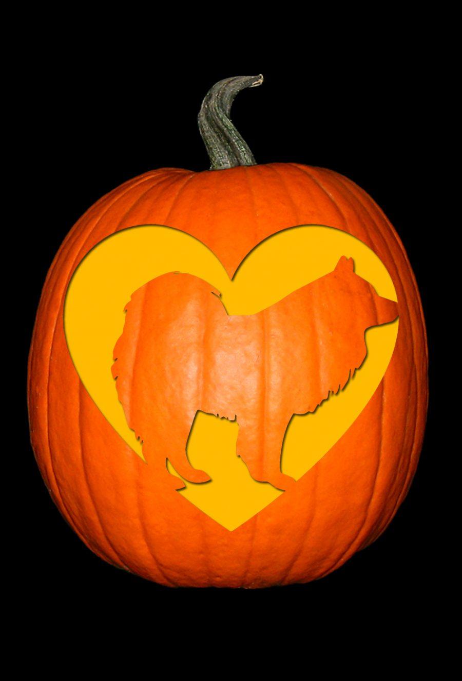 Love My Samoyed Pumpkin