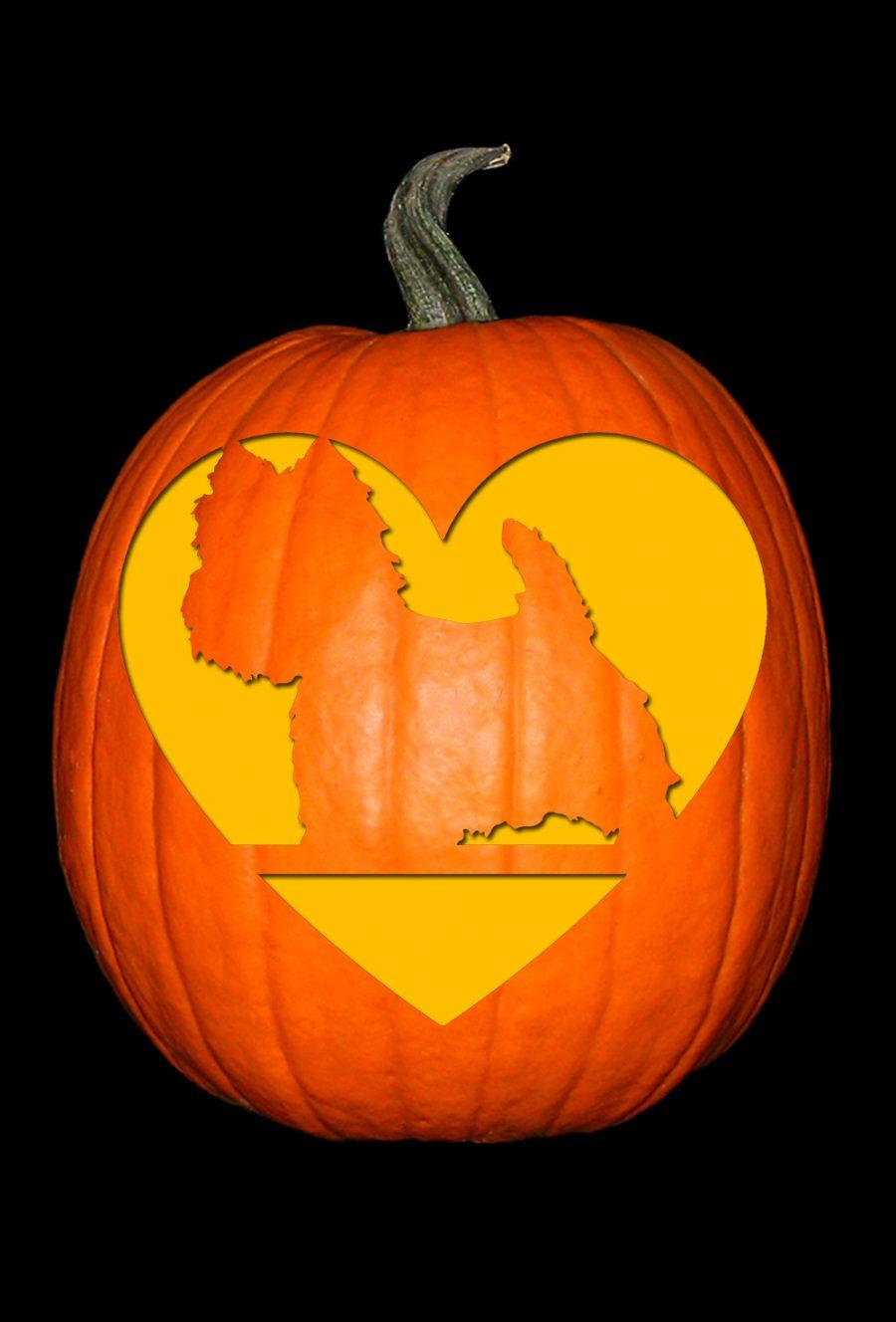 Love My West Highland Terrier Pumpkin