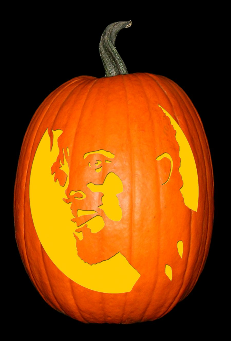 Black Panther - Chadwick Boseman Pumpkin