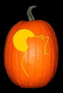 Cat & Moon Pumpkin