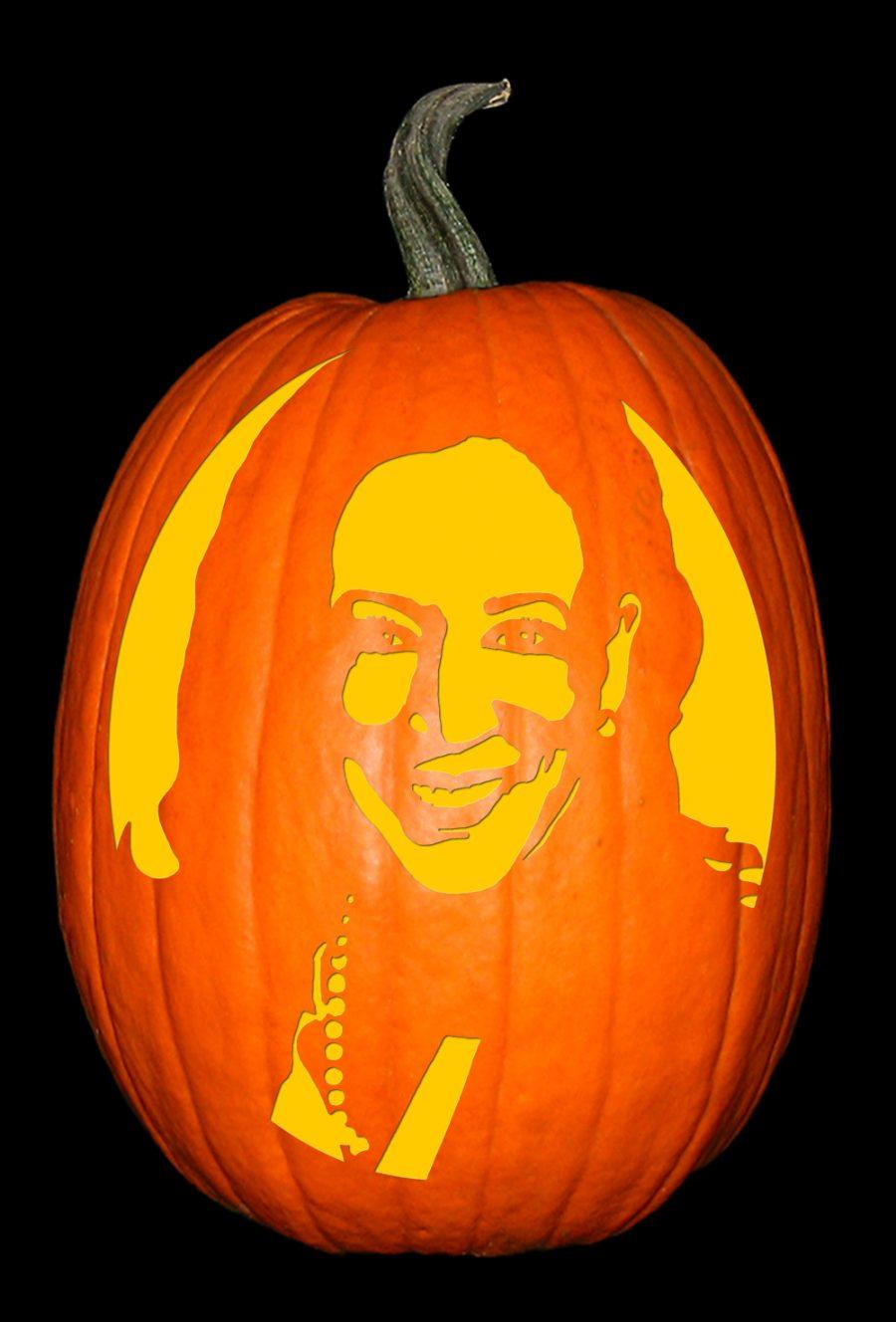 Kamala Harris Pumpkin