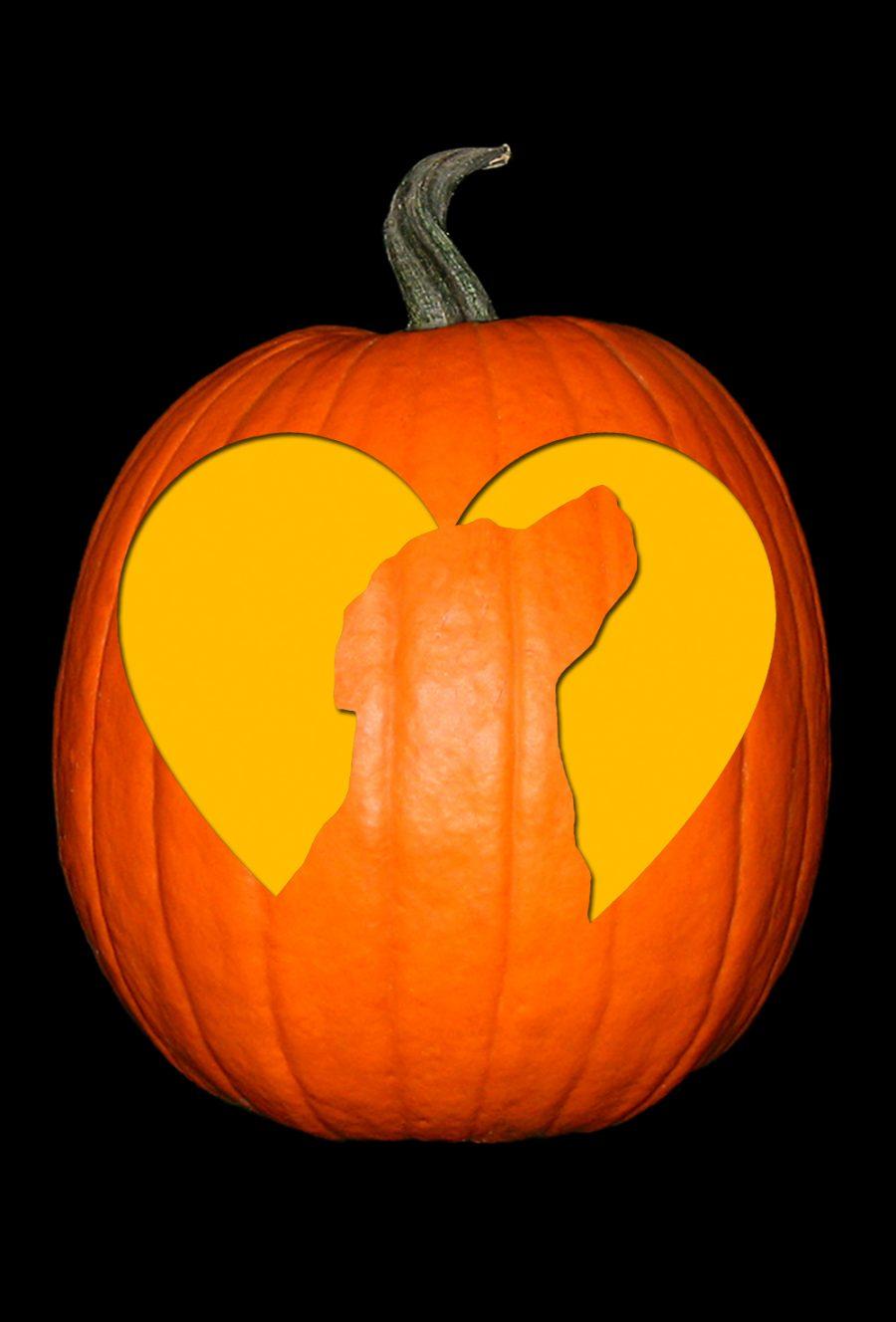 Love My Labrador 2 Pumpkin
