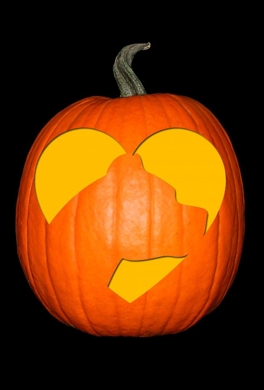 Love My Pit Bull 2 Pumpkin