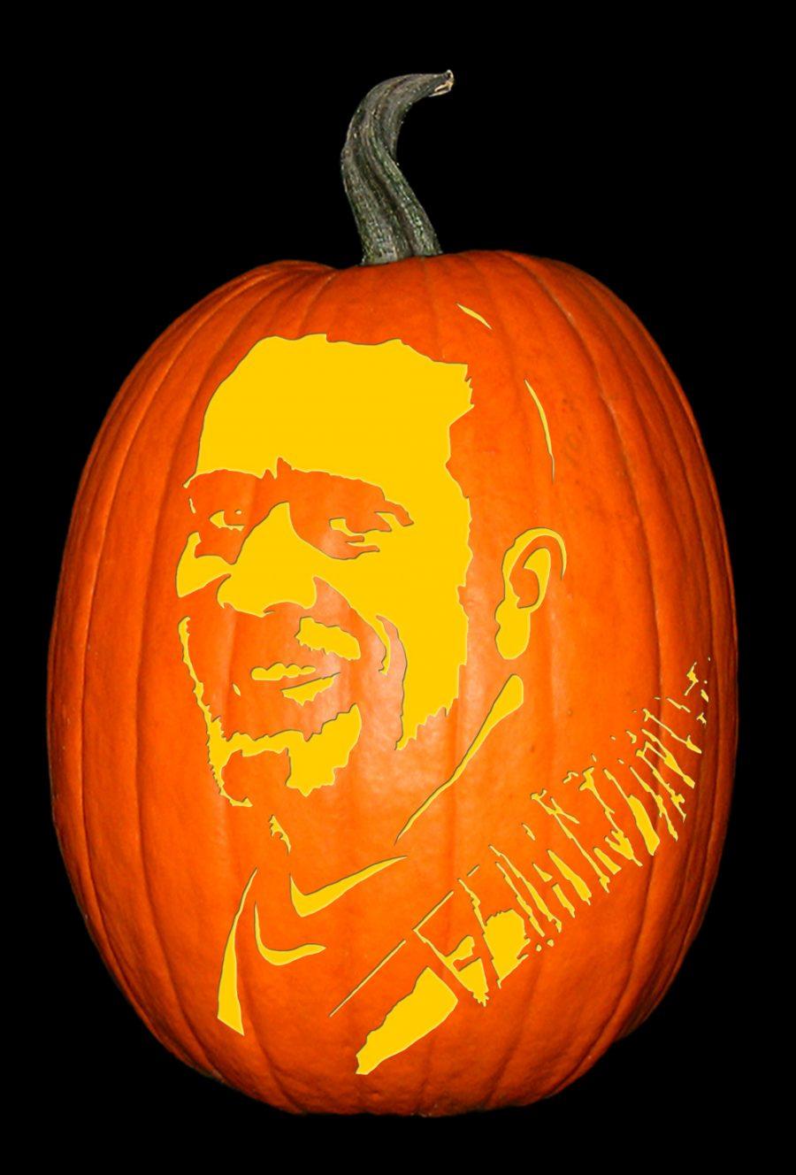 Negan - Walking Dead Pumpkin