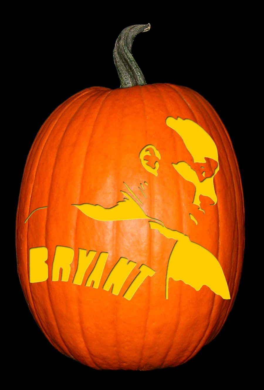 Kobe Bryant 2 Pumpkin