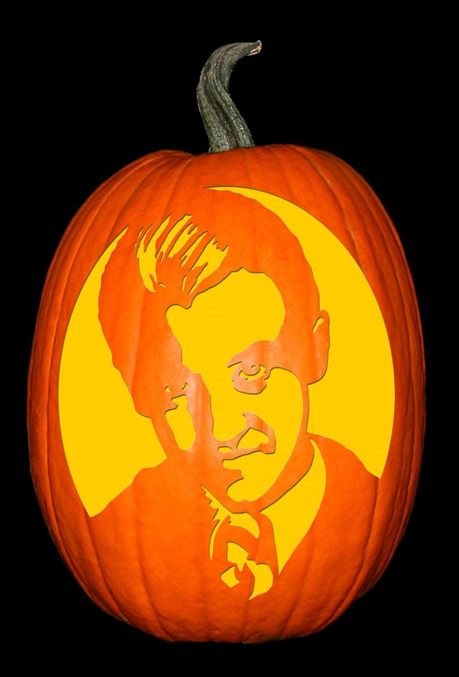 Draco Malfoy Pumpkin